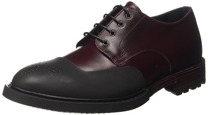Bu3009, Mens Derby Shoes Barracuda
