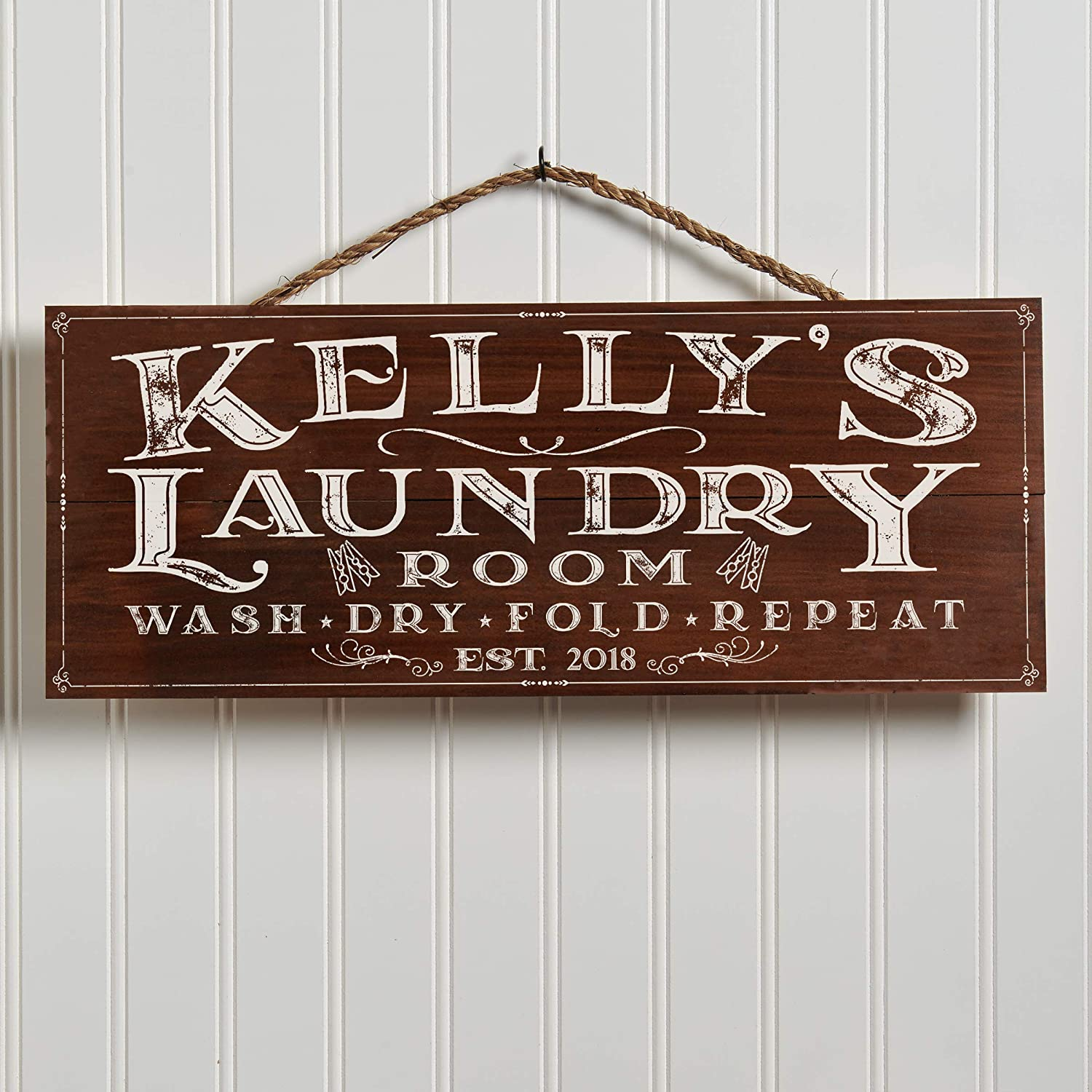 Laundry Room Sign Large Family Wall Art Home Decor Housewarming Gift for Husband Gift for Wife