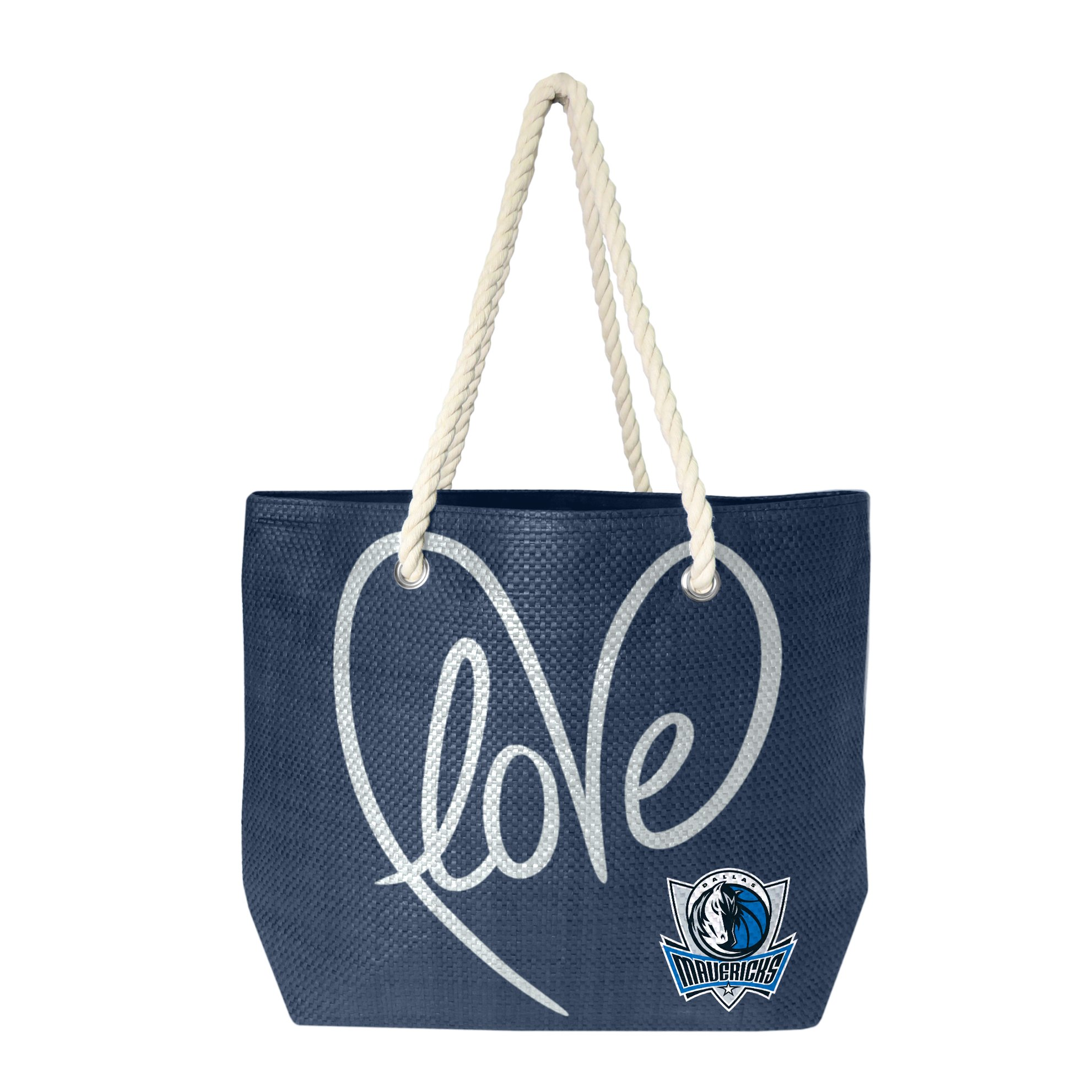 NBA Dallas Mavericks Rope Tote Bag by Littlearth
