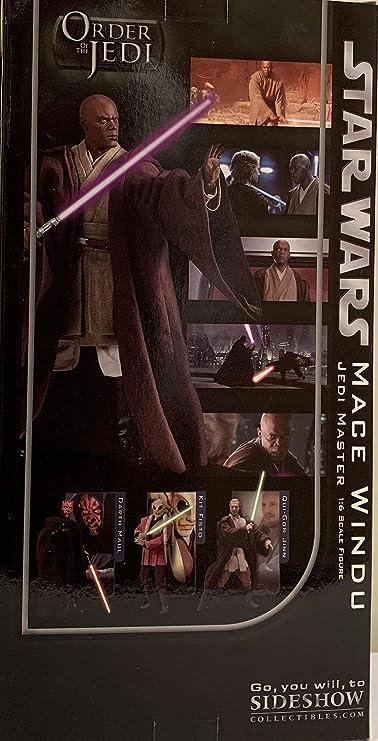 Star Wars Sideshow 12 Inch Action Figure MACE WINDU 2109