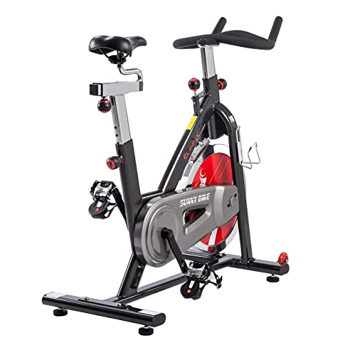 Best Spin Bike Reviews - Sunny Health & Fitness Indoor Cycle Trainer - 49 lb. Flywheel