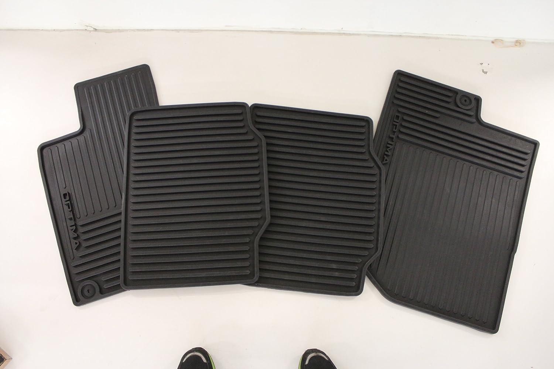 Rubber floor mats 2013 kia sportage - Amazon Com Genuine Kia Accessories 2t013 Adu00 All Weather Floor Mat For Select Optima Models Automotive