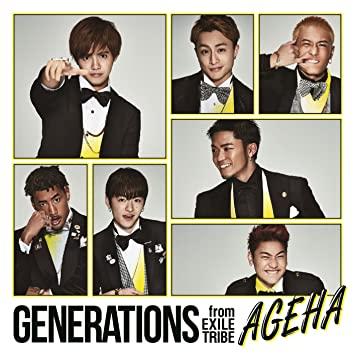 amazon ageha cd dvd generations from exile tribe j pop 音楽