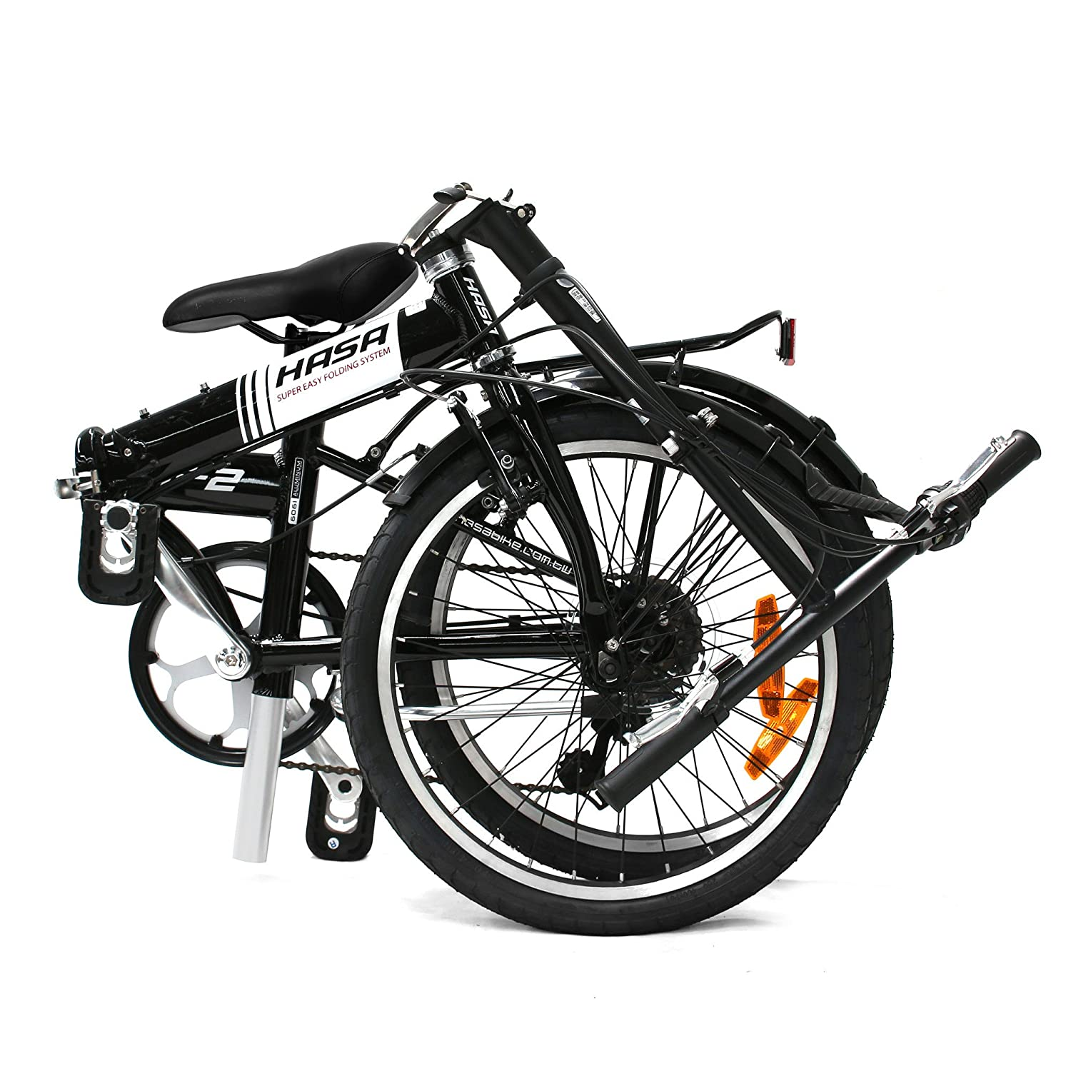 Hasa Sram F2 6 Speed Folding Bike Review