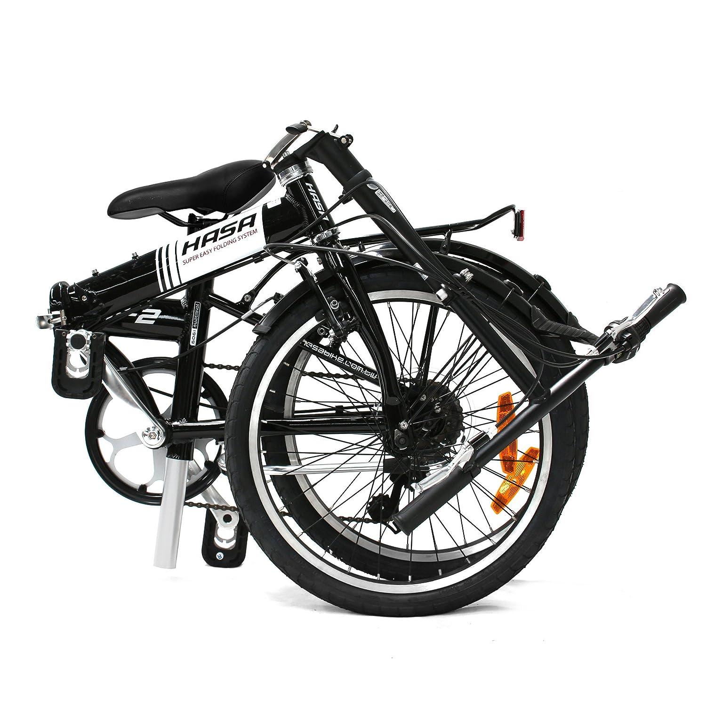 Hasa Sram F2 6 Speed Folding Bike Review
