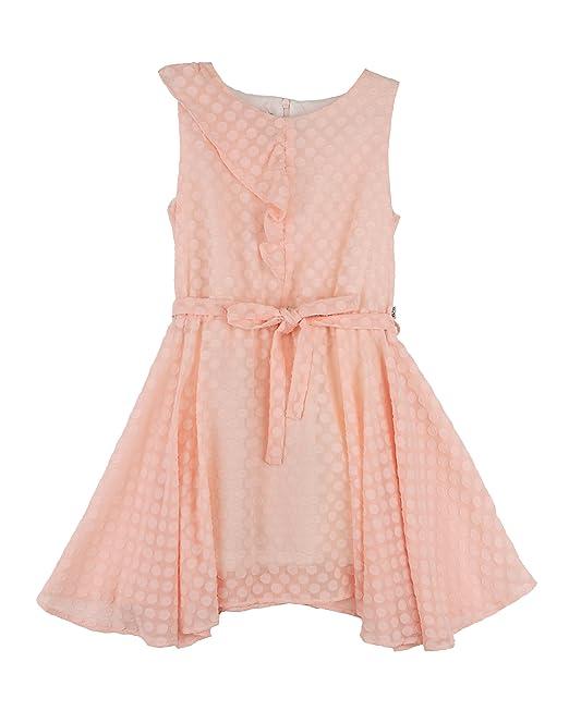N+V 18N085D, Vestido para Niñas, (Rosa Palo), años (Tamaño del Fabricante:10): Amazon.es: Ropa y accesorios