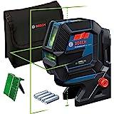 Bosch Professional Kombilaser GCL 2-50 G (grön laser, interiör, RM 10-fäste, synligt arbetsområde: upp till 15 m, 4x AA…