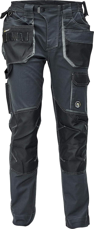 DINOZAVR Dayboro Pantaloni da Lavoro da Uomo Elasticizzati Ultra Comodi e Resistenti con Tasche per Ginocchiere