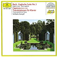 Bach,J.S English Ste 3 Capriccio Bwv922 Pno Trans