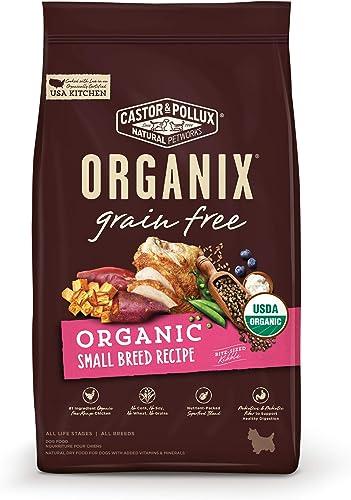 Castor Pollux Organix Grain Free Organic Small Breed Recipe Dry Dog Food