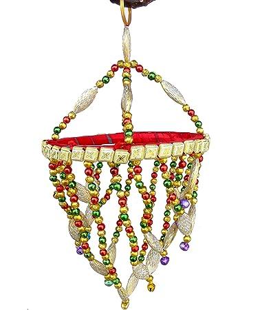 Buy Handicraft Handmade Jhumar Traditional Door Hangings Round
