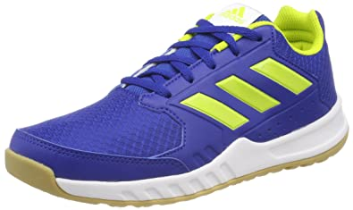 new style 58caf e747f adidas Unisex Kids Fortagym Gymnastics Shoes, Blue (CroyalSesoyeFtwwht  000