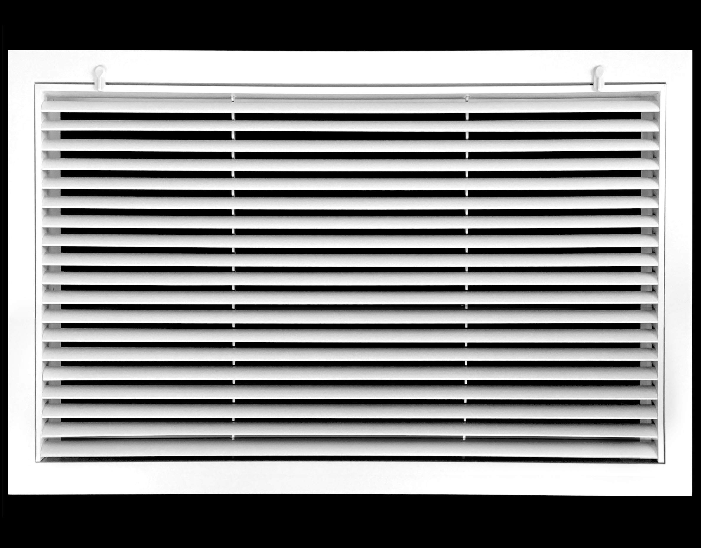 48'' x 24'' Aluminum Return Filter Grille - Easy Air Flow - Linear Bar Grilles [Outer Dimensions: 50.5''w X 26.5''h]