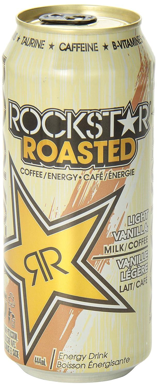 Rockstar Roasted Light Vanilla 12 Count Amazonca Grocery