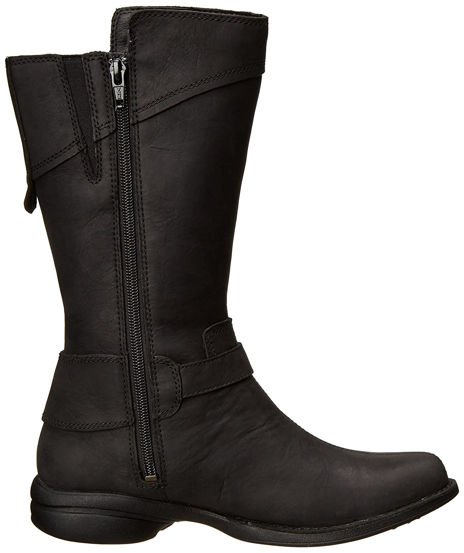 Merrell Women's Captiva Buckle-Down Waterproof Boot B00HF6RW30 7 B(M) US|Black