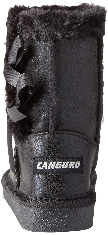 Canguro Niñas C57414h/Az Botas de Nieve Negro Size: 28 qaKg7d