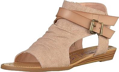 174a520654894 Blowfish Balla BF5486 Womens Pink (Blush Rancher Canvas Dyecut) Synthetic  Sandals