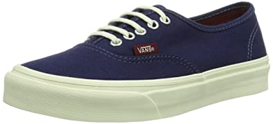 b28b5d39de Image Unavailable. Image not available for. Color  Vans Pop Authentic Slim  Patriot Blue Cordovan ...