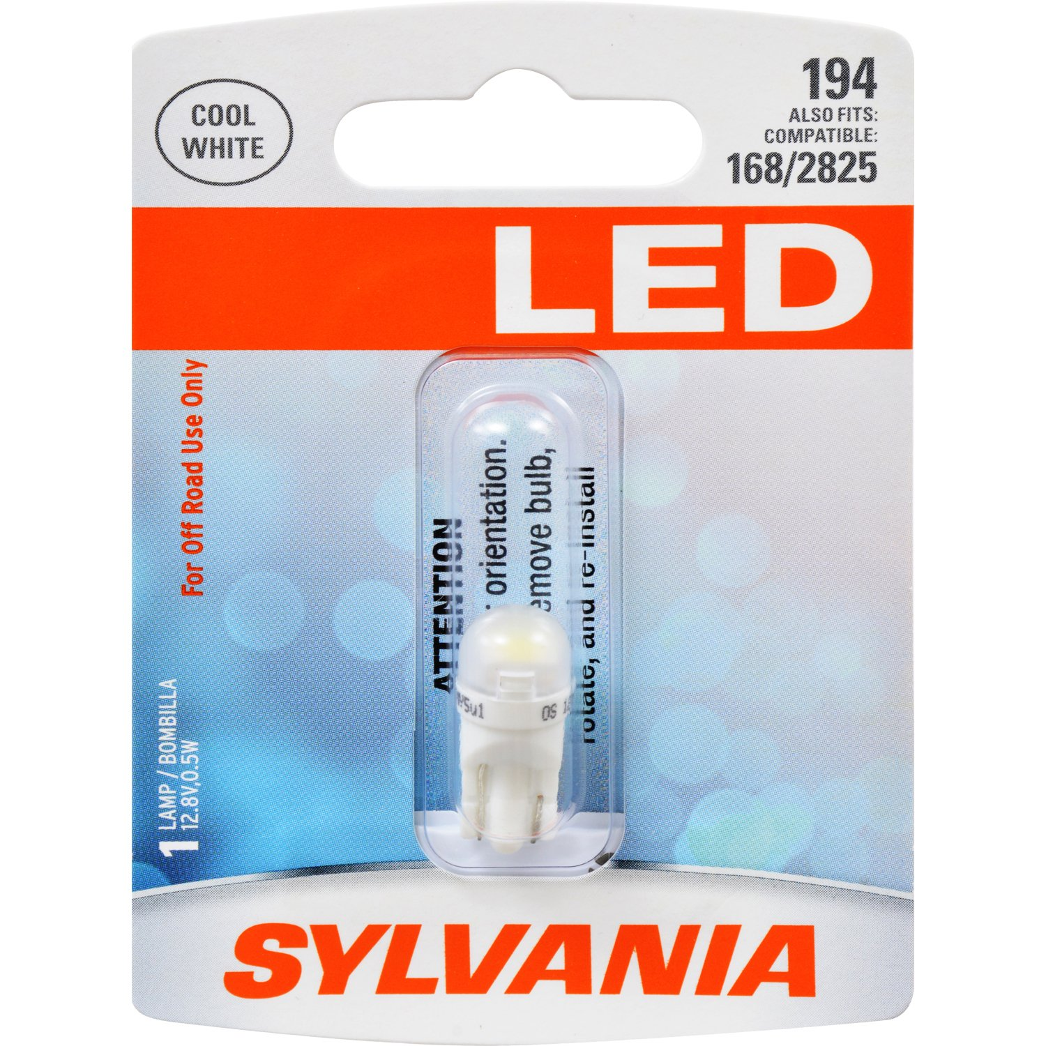 DE3175 31mm Festoon LED White Mini Bulb Ideal for Interior Lighting Contains 1 Bulb Dome Bright LED Bulb Map Cargo and License Plate SYLVANIA