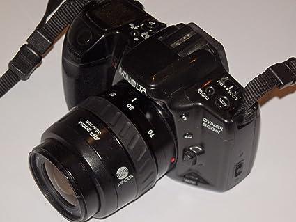Minolta Dynax 500si - Negro - Cámara réflex analógica con objetivo ...