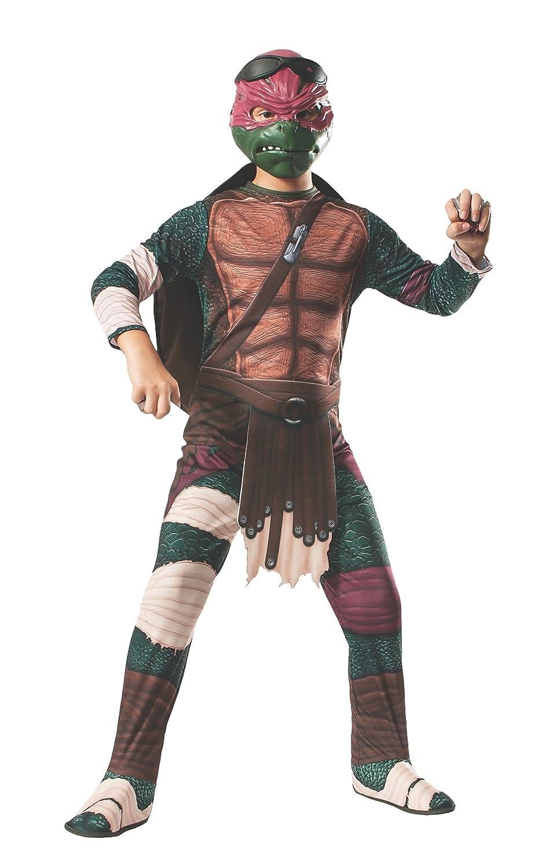 """mejor servicio Rubies apos;s Kid' s s s Teenage Mutant Ninja tortuga película disfraz de Raphael, grande, edad 8 – 10 años, altura 4 '8 """" – 5' 0""""  todos los bienes son especiales"""