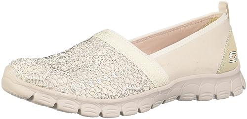 Skechers Mujer Active Ez Flex 3.0-Duchess Zapatillas - Beige, 41 EU: Amazon.es: Zapatos y complementos