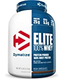 Dymatize Elite 100% Whey Protein, Rich Chocolate, 5 lbs