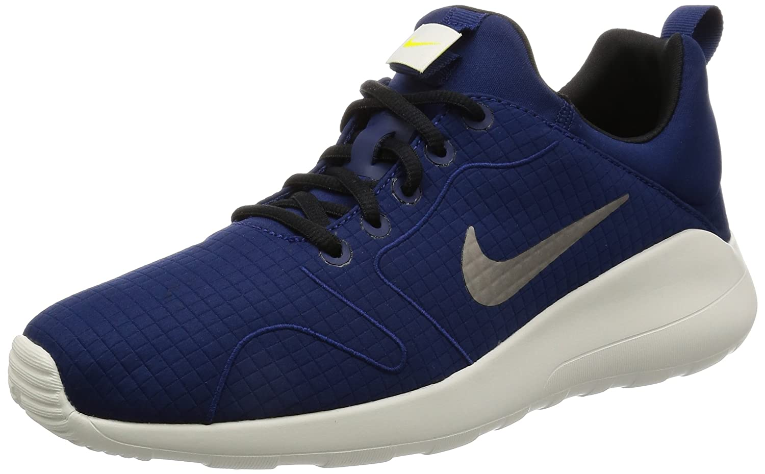 Nike Herren Kaishi 2.0 Prem Sneakers  43 EU|Blau (Binary Blue/Black/Light Bone/Electro Lime)