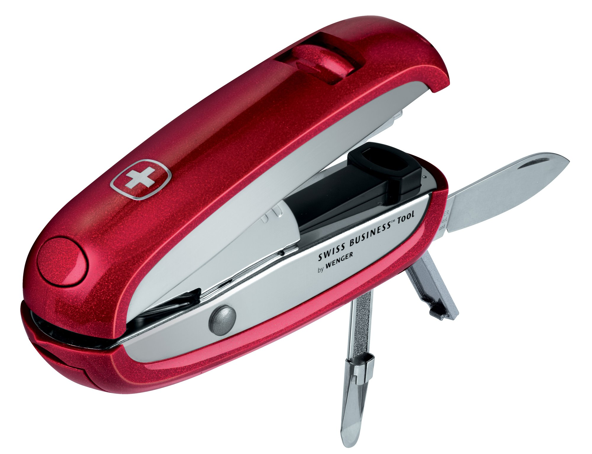 NEW+WENGER RED SWISS BUSINESS TOOL MDL 50