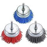 180 Grit Als Liner ALS-6CB 6 Inch Abrasive Nylon Bristle Cup Brush