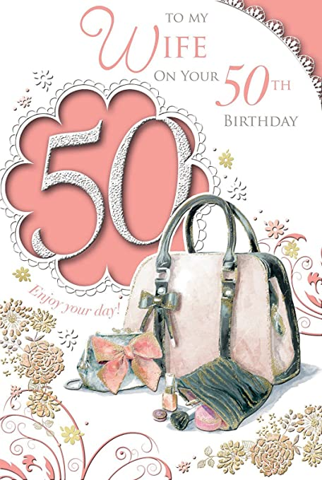 Amazon Xpress Yourself To My Beautiful Wife Happy 50th