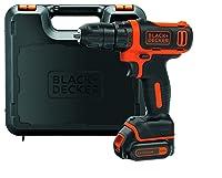 Black + Decker Akkuschrauber 10.8V Ultra Kompakt EGBL108K