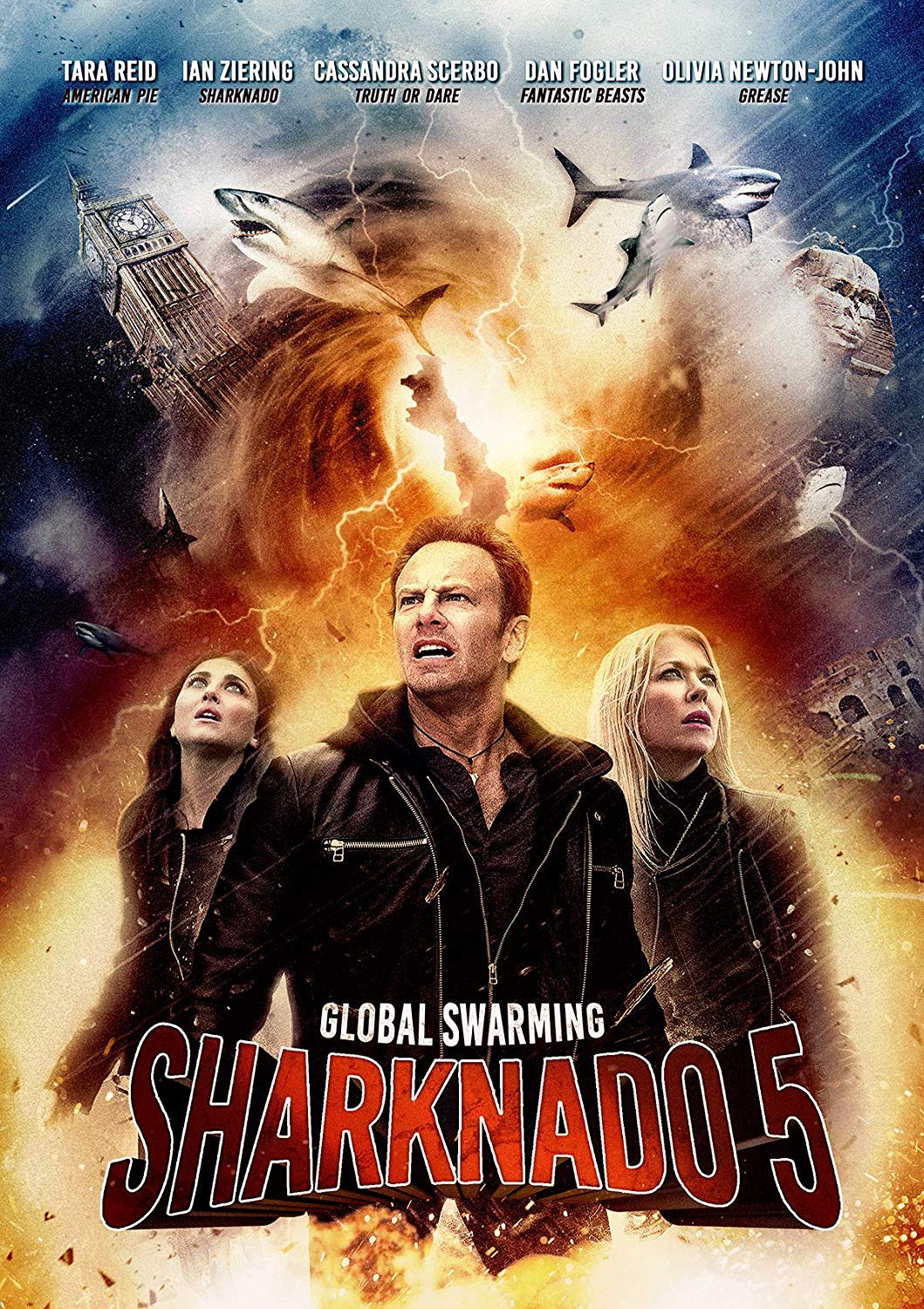 Sharknado 5: Global Swarming [DVD] [Reino Unido]: Amazon.es: Ian ...