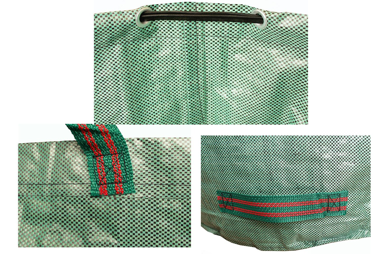 Amazon.com: Paquete de 2 bolsas de residuos de jardín 72 ...