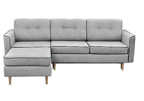 Mazzini Sofas ladybird1 sofá Convertible de ángulo Izquierdo ...
