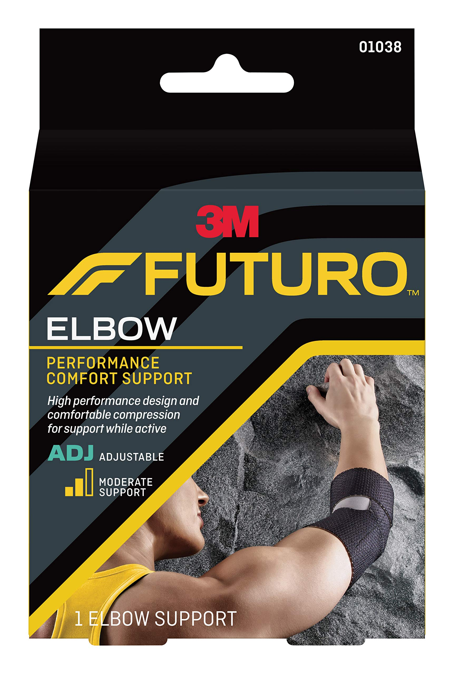 2019 year lifestyle- Elbow futuro support how to wear