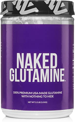 Pure L-Glutamine Made in The USA – 200 Servings – 1,000g, 2.2lb Bulk, Vegan, Non-GMO, Gluten and Soy Free. Minimize Muscle Breakdown Improve Protein Synthesis. Nothing Artificial