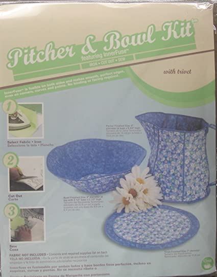Amazon.com: Pitcher & Bowl Kit (Featuring InnerFuse) with Trivet