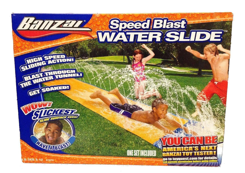 BANZAI High Speed Sliding Action SPEED BLAST Water Slide