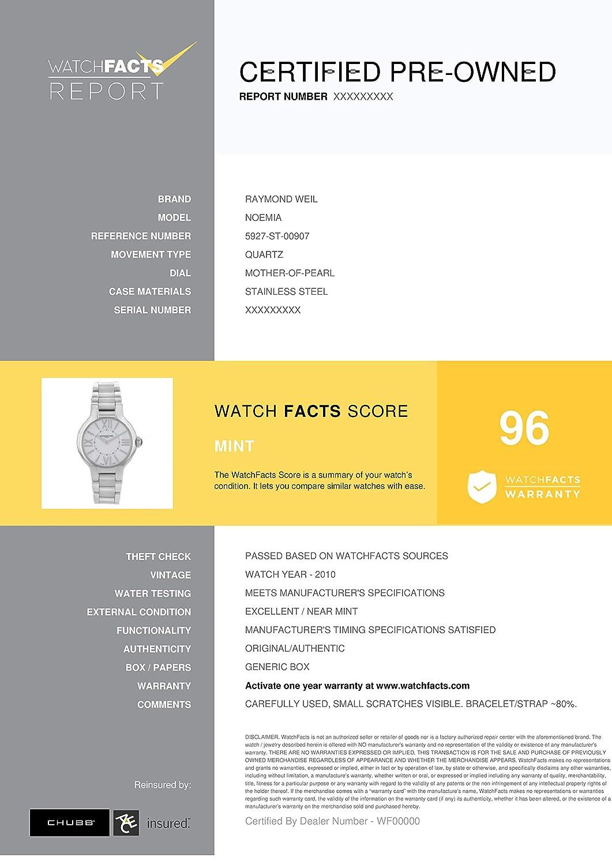 Amazon.com: Raymond 5927-ST-00907 Weil Noemia - Reloj hembra ...