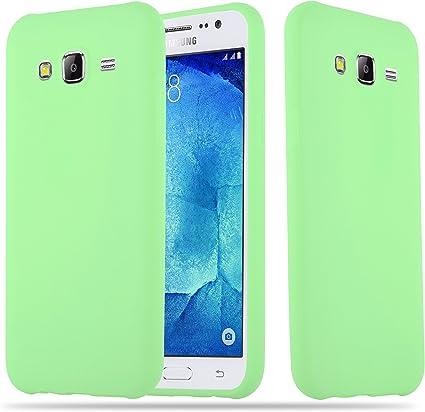 Cadorabo Coque pour Samsung Galaxy J5 2015 en Candy Vert Pastel - Housse Protection Souple en Silicone TPU avec Anti-Choc et Anti-Rayures - Ultra Slim ...