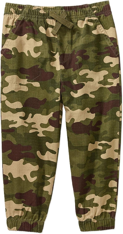 Garanimals Toddler Boys Cargo Style Dress Pants Sz 2T 4T 5T Gray Elastic pullon