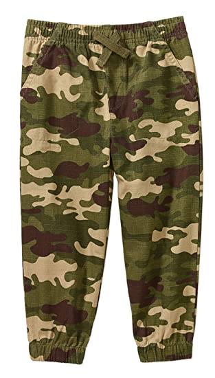 5eaf876d1 Amazon.com: Garanimals Baby Toddler Boys 2t-5t Ripstop Cargo Pants Joggers:  Clothing