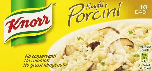 7 opinioni per Knorr- Funghi Porcini, Senza Conservanti, 10 Dadi