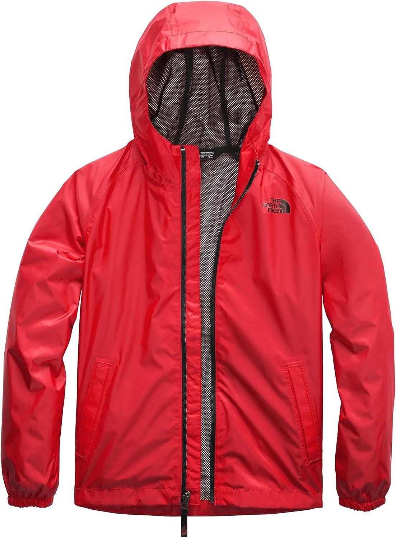 The North Face Boys Zipline Rain Jacket Wind Jacket TNF Red NWT MSRP $55