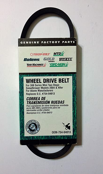 MTD Genuine Parts Snow Thrower Drive Belt - 300 Series Compact Two-Stage