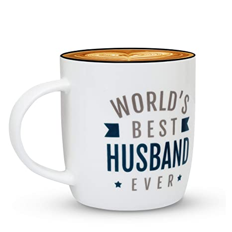 Amazon.com: gifffted Worlds Best Husband Ever taza de café ...