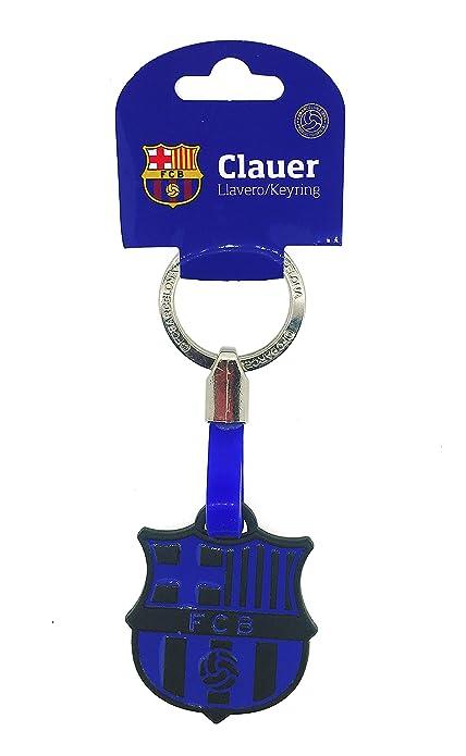 Gemelolandia Llavero Fútbol Club Barcelona Negro y Azul ...