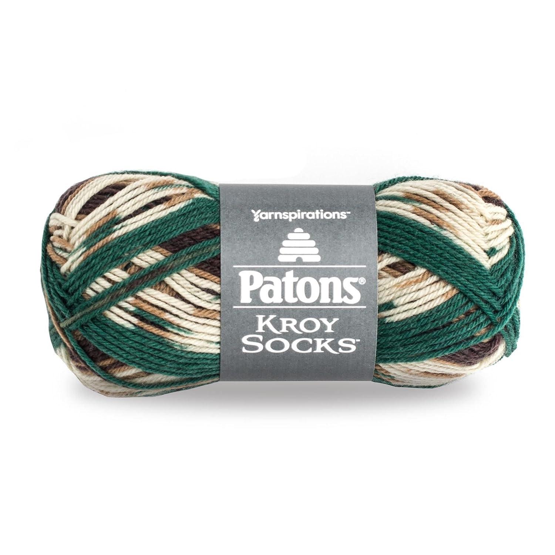 Patons 24345555718 Kroy Socks Yarn-(1) Gauge-1.75 oz-Turquoise-for Crochet, Knitting & Crafting Spinrite