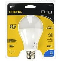 Pretul LED-1912P Foco de Led, A19, 12 W, Luz de Día